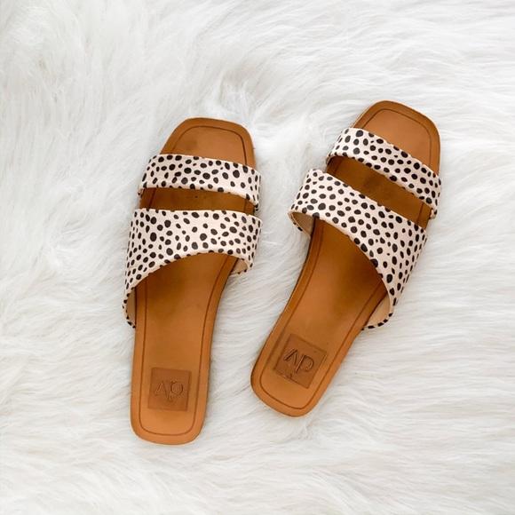 Target Leopard Slide Sandals   Poshmark